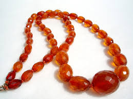 amber beads necklace images Glass beads bracelets cognac amber necklace JPG