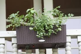 deck railing planter boxes along fence u2014 new decoration