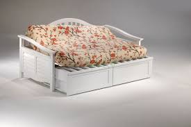 seagull daybed twin size white day bed with trundle bed xiorex