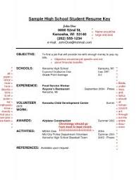 Resume Volunteer Examples by Examples Of Resumes Resume Template Objective For Restaurant