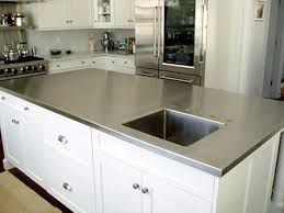 stainless steel countertop with sink five star stone inc countertops the pros and cons of stainless