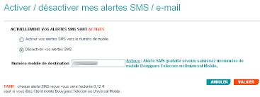 bouygues telecom si e répondeur bbox les alertes sms deviennent gratuites b