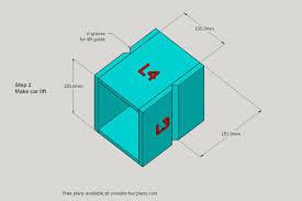 Plan Toys Parking Garage Instructions by Toy Car Garage Download Free Print Ready Pdf Plans