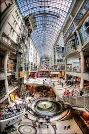 toronto eaton centre shopping mall needed more time to explore