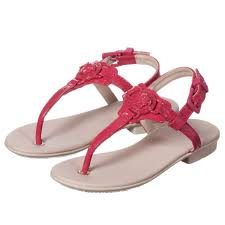 young versace girls dark pink patent leather sandals