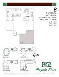2 bedroom 2 bath floor plans magala place kelowna british columbia 2 bedroom 2 bathroom