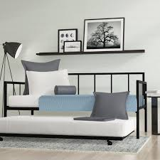 daybed design zipcode design martinique twin daybed with trundle reviews wayfair