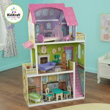 interior kidkraft pastel swivel deluxe dollhouse kidkraft