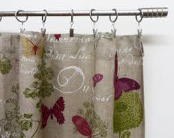 French Kitchen Curtains by French Cafe Curtains Etsy
