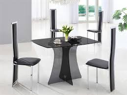 Small Glass Dining Room Tables Compact Dining Table And Chairs Icifrost House