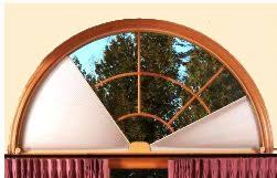 Curved Window Curtains Window Treatment Ideas