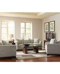 Macys Living Room Furniture Kenton Fabric Sofa Living Room Furniture Collection Furniture