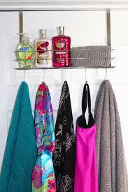 Over The Cabinet Door Basket by Treasured Tidbits By Tina 18 Alternative Bathroom Storage Ideas