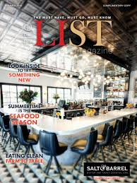 the list magazine march april 2016 by the list magazine issuu