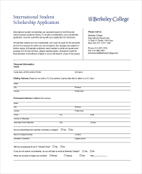 41 sample student application forms