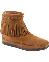 minnetonka womens boots size 11 minnetonka moccasins fringe boots slippers sheplers