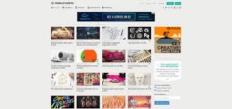 10 design inspiration websites gridgum