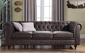 Chesterfield Sofa Price by Charleston Classic Leather Chesterfield Sofa Sofamania Com