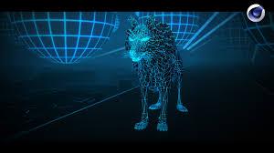 tuto cinema 4d créer un décor effet tron wireframe u0026 sketch