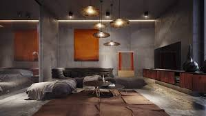 stylish living rooms living room 30 stylish living rooms that use concrete to stand