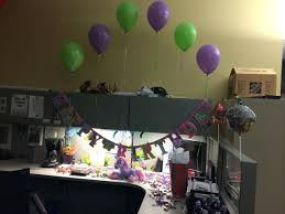 office design decorate office cubicle for birthday decorating