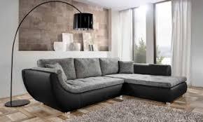canapé cuir et tissu tissu design italien