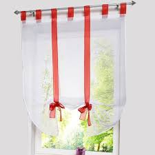 Tie Up Curtains New European Home Wave Blinds Stitching Colors Curtain For Living