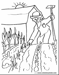 awesome spring garden coloring pages garden coloring pages