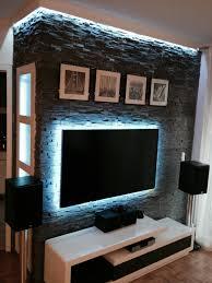 steinwand wohnzimmer tv uncategorized tolles wohnzimmer steinwand grau ebenfalls frisch
