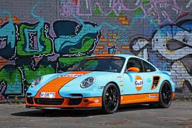 Porsche 911 Decals - porsche 911 turbo with gulf oil wrap looks neat and with 650hp is