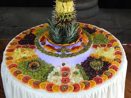 fruit table display ideas fruit palm tree hire fruit display supplier