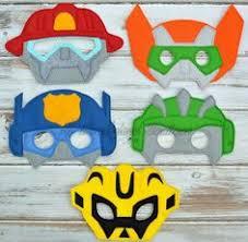 transformer rescue bots party supplies rescue bots party masks rescue bots party favors rescue bots
