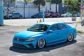 volkswagen passat r line blue volkswagen 2016 vw passat r line vossen forged lc 109t wheels