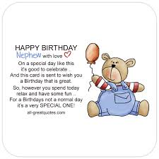 happy birthday nephew with love free birthday cards for nephew