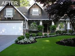 Front Garden Ideas Architecture White Flowers Roses Front Yard Garden Ideas