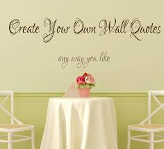 Personalized Name Wall Decals For Nursery by Create Your Own Wall Quotes Personalized Words Custom Wall Decal