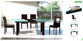 mid century modern dining table with bench modern dining table