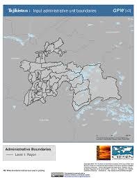 Tajikistan Map Map Gallery Sedac