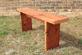 Simple Wood Bench Plans by Simple Wooden Benches Plans Bench Decoration