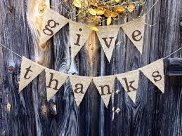 thanksgiving burlap banner give thanks burlap banner thanksgiving fall by 22fiftythree fall