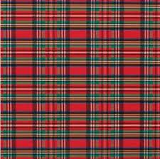 plaid christmas buy tartan plaid christmas gift wrap flat sheet 24 x 6