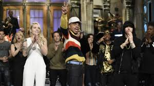 chance the rapper gets in the thanksgiving spirit on saturday