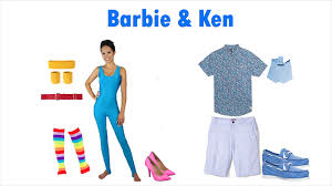 party city halloween trophies 40 adorable homemade barbie and ken costumes barbie ken halloween