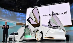 eco friendly and self driving cars showcased at tokyo motor show