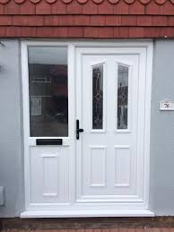 Patio Doors With Side Windows Side Panels For Upvc Doors Composite Doors