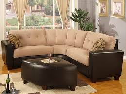Sofa Sectionals Leather by Sectionals For Small Spaces 38 Small Yet Super Cozy Living Room