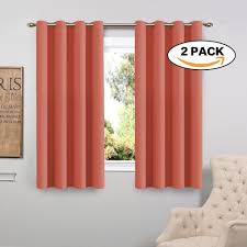 Coral Blackout Curtains Rugs Curtains 2 Pc Coral Blackout Curtains For Charming Living