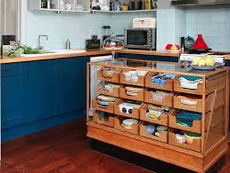 Multipurpose Island Blue Kitchen Cabinet Blue Tile Kitchen