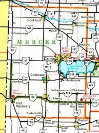 mercer map mercer county ohio map ohiobiz com