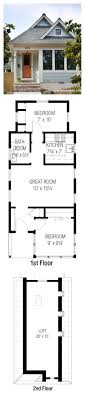 2 bedroom with loft house plans best 25 tiny house plans ideas on small home plans